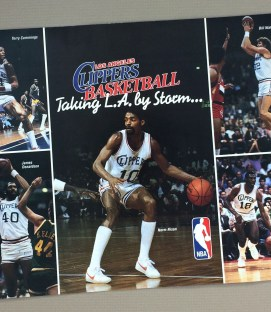 Los Angeles Clippers Inaugural Season Ticket Brochure