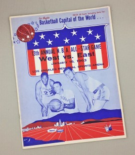NBA All-Star Game 1963 Program