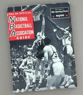 1964-65 The Sporting News NBA Guide. The BNA had 9 teams in the 1964-65 season
