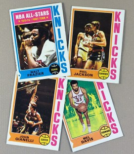 1974-75 New York Knicks Collectors Card Set