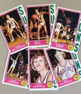 1974-75 Phoenix Suns Collectors Card Set