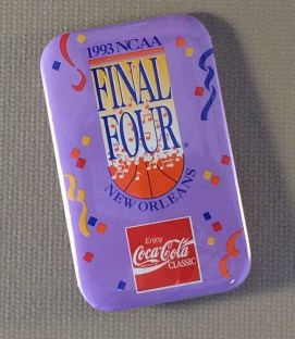 NCAA Final Four 1993 Button 2