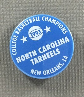 North Carolina Tarheels NCAA Champions Button