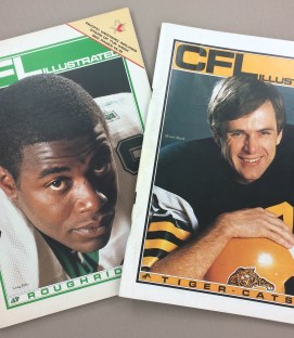 CFL Illustrated 1985 Program Set
