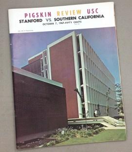 USC vs Stanford 1967 Program