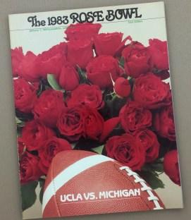 1983 Rose Bowl Program