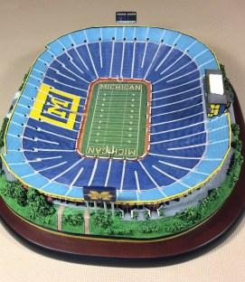 Danbury Mint Michigan Stadium Replica