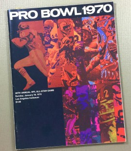 1970 Pro Bowl Program
