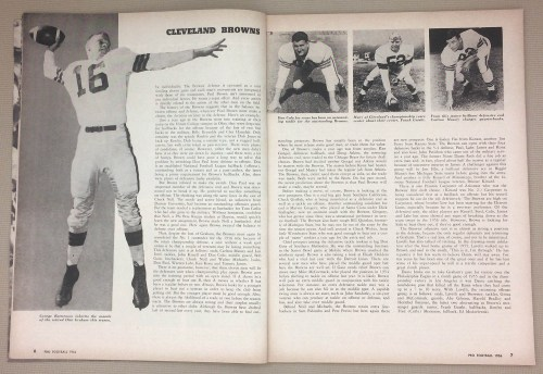 Cleveland Browns 1955 stats