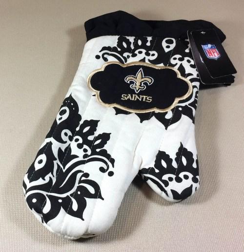 New Orleans Saints Oven Mitt