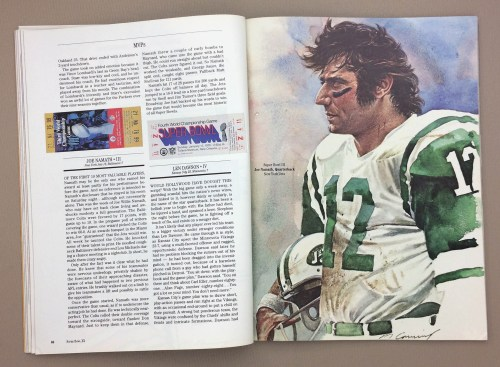 Super Bowl MVP Joe Namath
