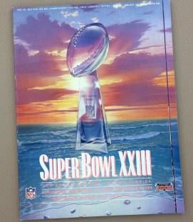 Super Bowl XXIII 1989 Game Program