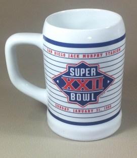 Super Bowl XXII Collectors Mug