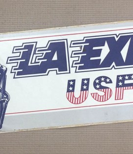 Los Angeles Express Bumper Sticker
