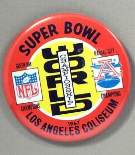 1967 Super Bowl I Replica Button
