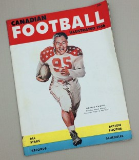 1956 Canadian Football Illustrated Magazine