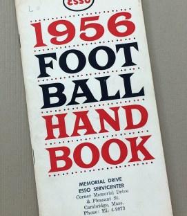 ESSO 1956 Football Handbook