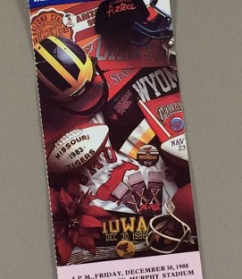 Holiday Bowl 1988 Ticket