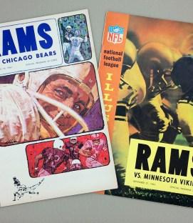 Los Angeles Rams 1964 Game Program 2-Pack