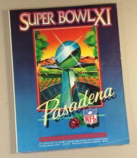 1977 Super Bowl XI Program