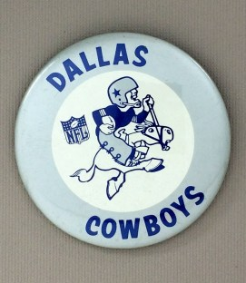 Dallas Cowboys Team Button