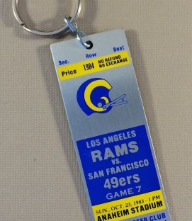 Los Angeles Rams Keychain