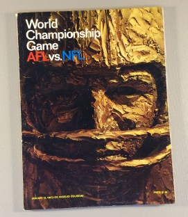 1967 Super Bowl I Program