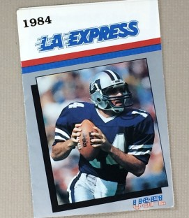 Los Angeles Express 1984 Schedule