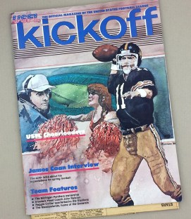 1983 LA Express Oakland Invaders Program