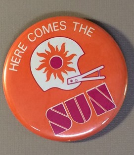 Southern California Sun Button