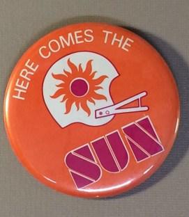 Southern California Sun Button
