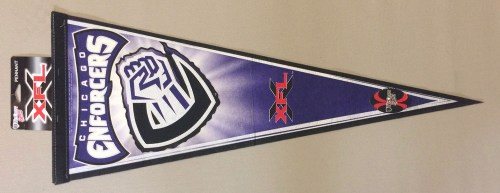 XFL Chicago Enforcers Pennant