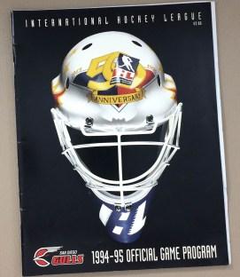 San Diego Gulls 1994-95 Program