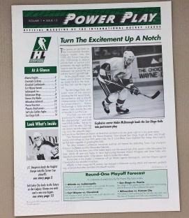 IHL Power Play Vol 1 Issue 15 1993