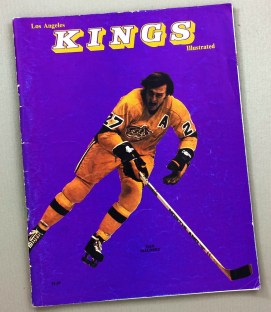 1974 Los Angeles Kings Leafs Program