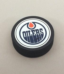 Edmonton Oilers Puck
