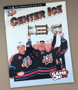 San Diego Gulls 1998-99 Program 1