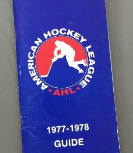 American Hockey League 1977-78 Media Guide