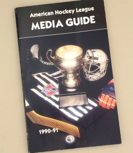 American Hockey League 1990-91 Media Guide