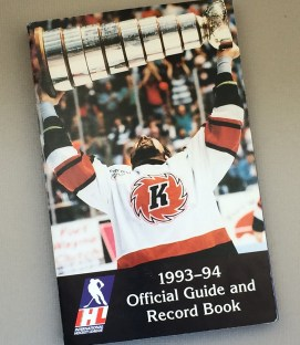 International Hockey League 1993-94 Media Guide