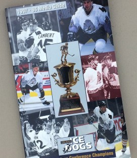 Long Beach Ice Dogs 1997-98 Media Guide