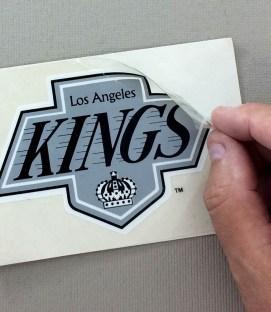 Los Angeles Kings Vinyl Decal