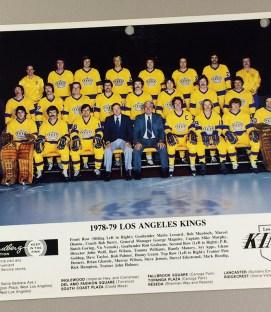 Los Angeles Kings 1978-1979 Team Photo