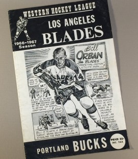Los Angeles Blades 1966 Program