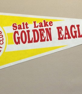 Salt Lake Golden Eagles Pennant