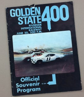 1971 NASCAR Golden State 400 program