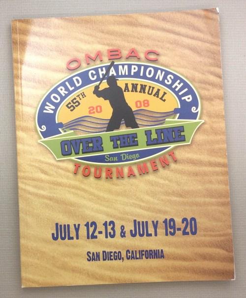 Over The Line 2008 Tournament Program