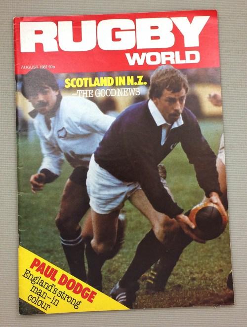 1981 Rugby World Magazine