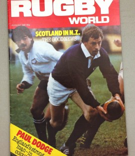 1981 Rugby World Magazine