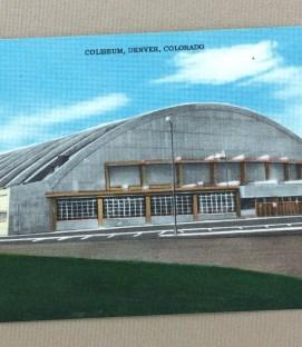 Denver Coliseum Postcard